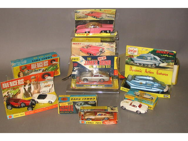 Corgi and Dinky T.V and Film vehicles, 7