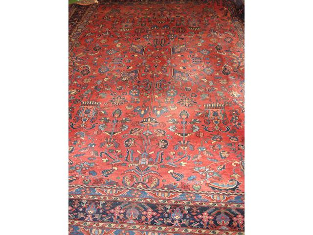 A Lilihan carpet West Persia, 361cm x 276cm
