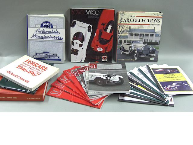 A good quantity of Ferrari literature and ephemera,