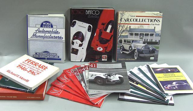 A good quantity of Ferrari literature and ephemera,