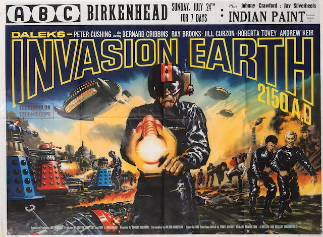 Daleks Invasion Earth 2150 AD, British Lion Film Corperation, 1966,