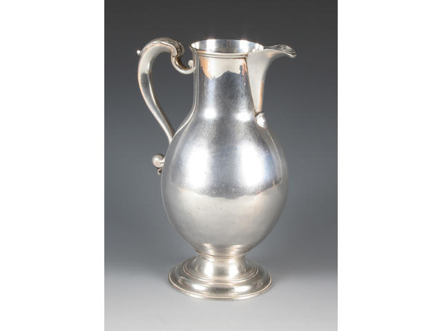 A George III jug By Thomas Whipham and Charles Wright, 1761,