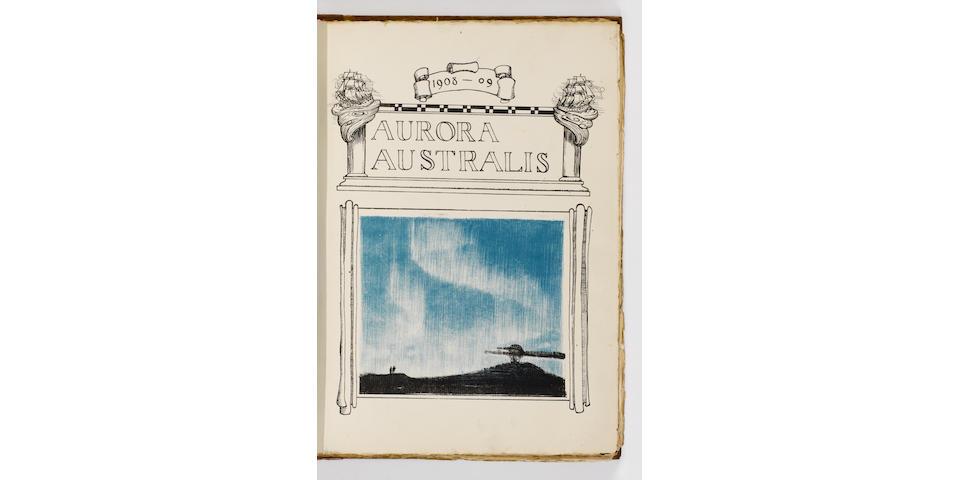 AURORA AUSTRALIS SHACKLETON (Sir ERNEST, editor) Aurora Australis