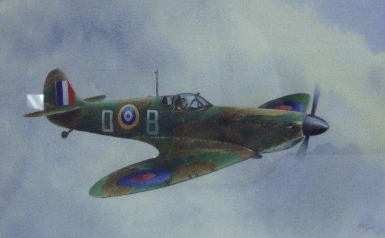 Bob Murray, 'Douglas Bader/Spitfire',