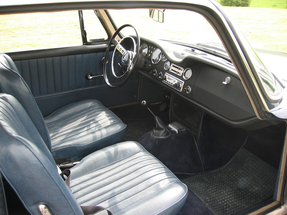 1964 Sunbeam Venezia Coupé  Chassis no. R3190142 Engine no. B3190142