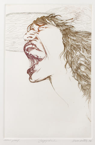 David Oxtoby: prints of Mick Jagger,