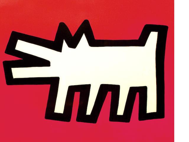 Keith Haring, Dog Icon