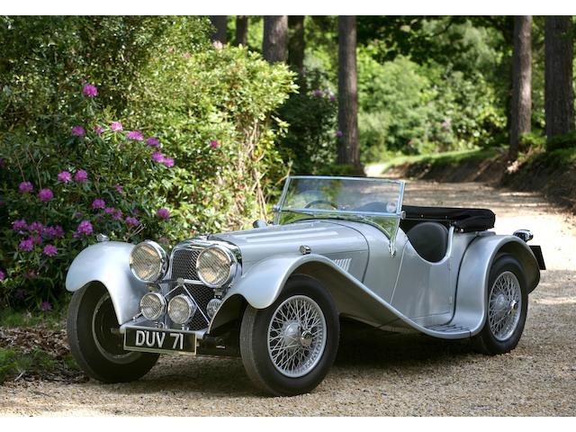 1937 Jaguar 2 1/2 Litre SS100,