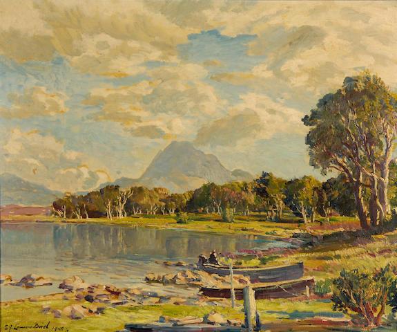 "Samuel John Lamorna Birch R.A., R.W.S., R.W.A. (British, 1869-1955) ""Loch Maree"","