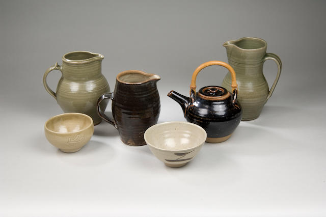The Leach Pottery a mixed lot