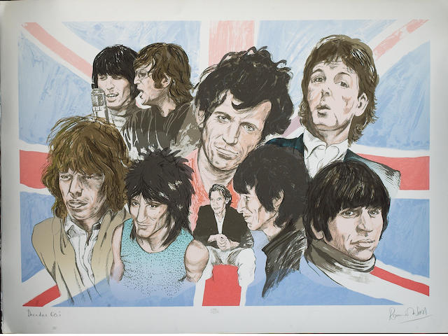 Ronnie Wood: 'Decades 1960's',