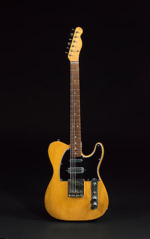 Mike Oldfield's Fender Telecaster, used to record the album 'Tubular Bells',