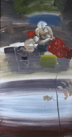 Ivon Hitchens (British, 1893-1979) 75.5 x 41 cm (29 3/4 x 16 1/8 in.)