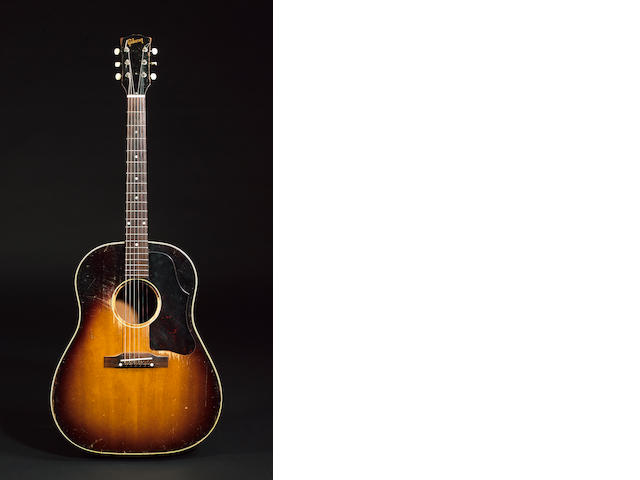Pete Townshend: a Gibson J45 acoustic guitar, 1956,