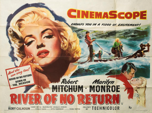 River Of No Return, Twentieth Century Fox, 1954,