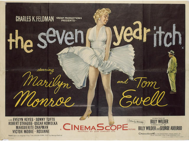 The Seven Year Itch, Twentieth Century Fox, 1955,