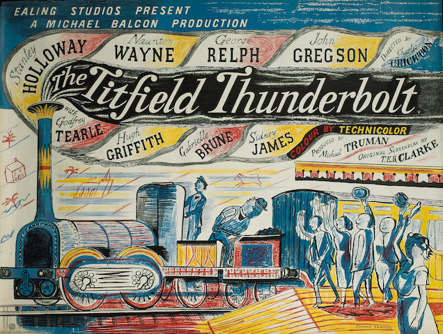 The Titfield Thunderbolt, Ealing Studios, 1953,