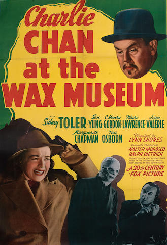 Charlie Chan at the Wax Museum, 20th Century Fox, 1940,