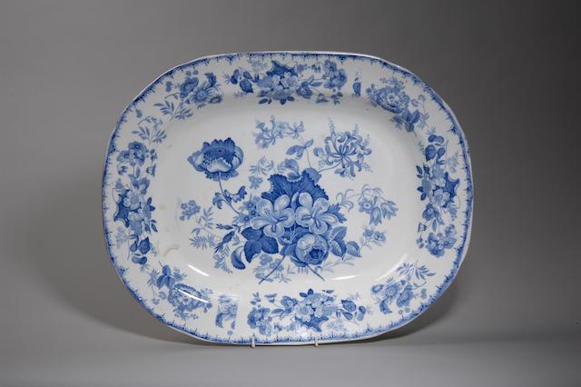 An Ynysmedw Pottery platter