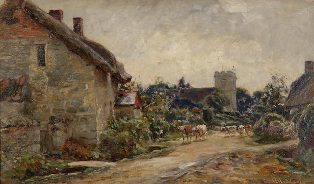 "Frederick (William Newton) Whitehead (British, 1853-1938) ""Overmoigne, Dorset"","