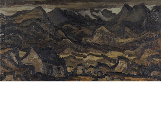 "Sir Kyffin Williams  (British, 1918-2006) ""Y Wyddfa"","