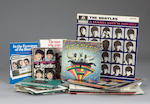 A collection of Beatles memorabilia, 1960s,