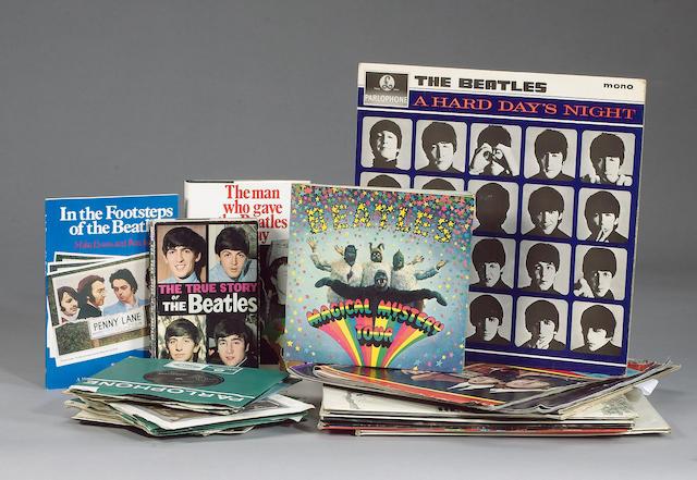 A collection of Beatles memorabilia, 1960s,
