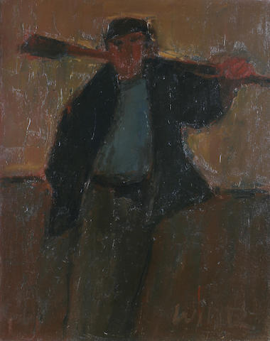 "Will Roberts (British, 1910-2000) ""Man with a Spade"","