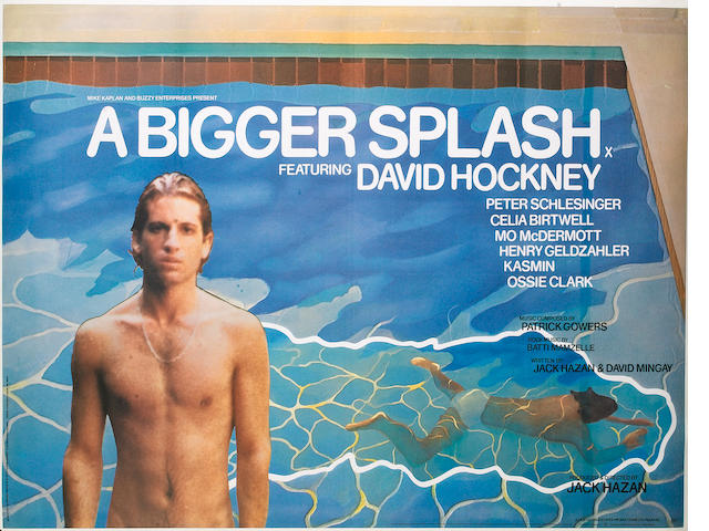 A Bigger Splash, New Line Cinema, 1974,