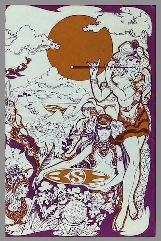 A programme for the Jimi Hendrix Experience/Procol Harum at the Saville Theatre, 4th June 1967