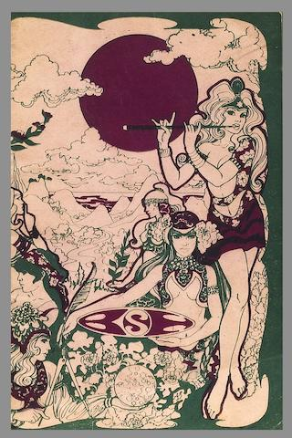 A programme for the Jimi Hendrix Experience/The Crazy World Of Arthur Brown at the Saville Theatre, 27th August 1967