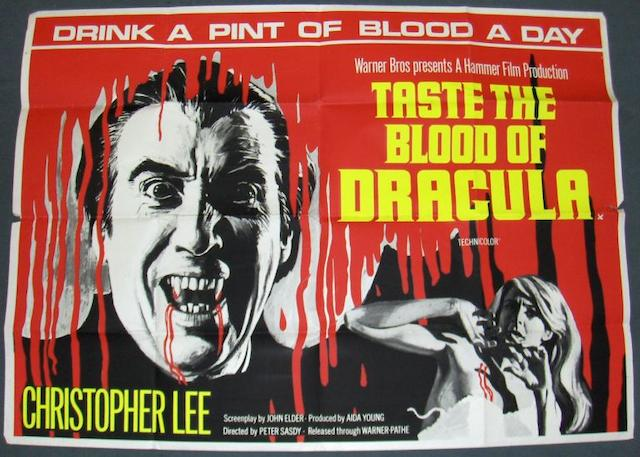 Taste the Blood of Dracula, Warner-Pathé Distributors, 1970,