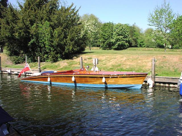 """Bessie"" a modern slipper stern launch by Peter Freebody"