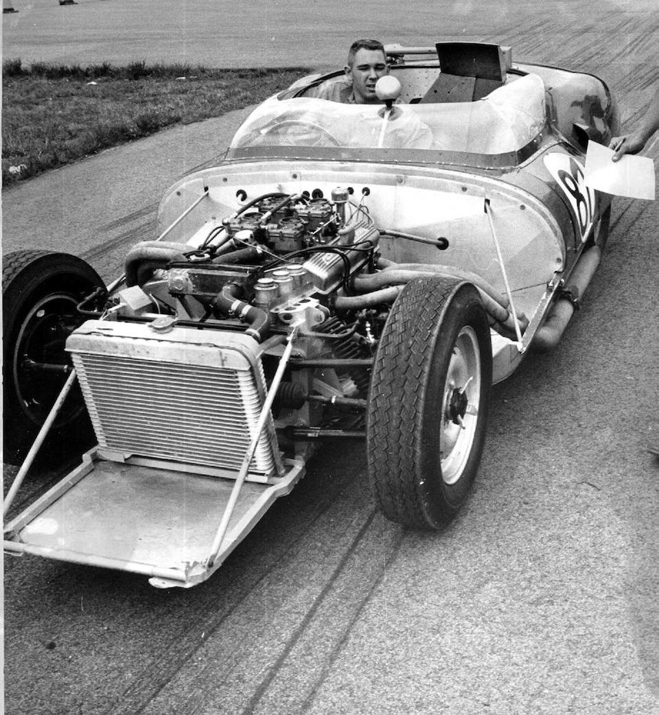 The ex-Pete Harrison/Michael Bowler,1959 Lister-Jaguar 'Costin' Sports-Racing Two-Seater  Chassis no. BHL 133 Engine no. 7562229-8