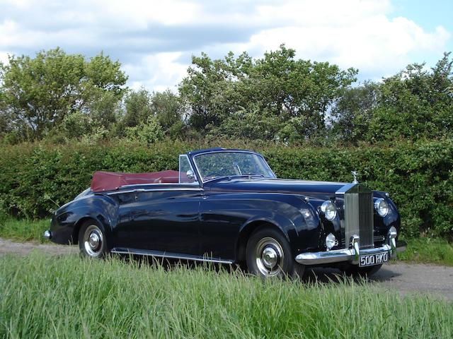 1961 Rolls-Royce Silver Cloud II Drophead Coupé  Chassis no. SZD43 Engine no. 296DS