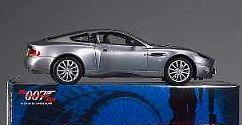 A Kyosho Diecast Model of an Aston Martin Vanquish, commemorating the 40th Anniversary of the first James Bond film,