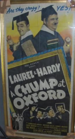 A Chump At Oxford, United Artists, 1940,