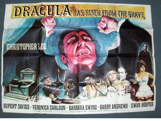 Dracula Has Risen From The Grave, Warner-Pathé, 1968,