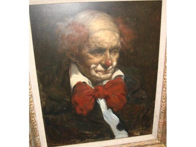 John Joseph Bellman (British, b.1950) The Clown