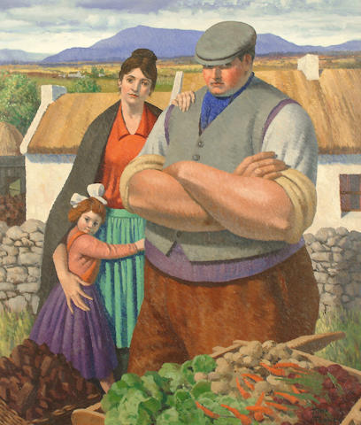 John Turner (Irish, born 1916) The Donegal Family