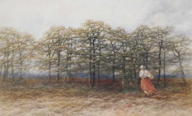 Peter Deakin, R.B.S.A. (British, active 1854-1884) 'Out of the Woods'