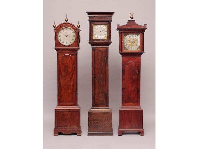 A George III longcase clock,