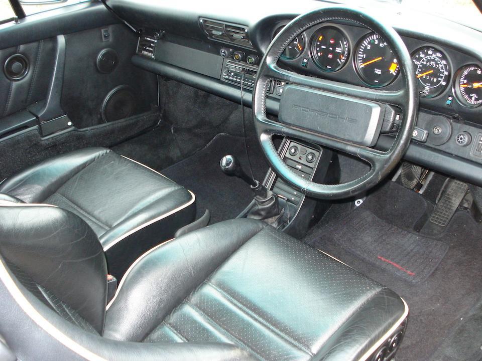 The Property of Billie Piper,1989 Porsche 911 Carrera Coupé  Chassis no. WPOZZZ91ZKS100398 Engine no. 63K00471