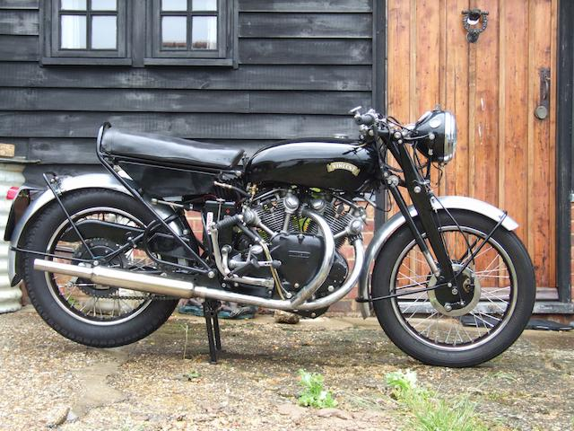 1955 Vincent 998cc Rapide Series D  Frame no. RD12640 Engine no. F10AB/2/10740
