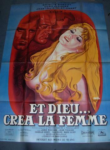 Et Dieu...crea la Femme (And God Created Woman), Cocinor, 1956,