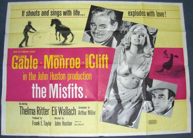 A collection of five Marilyn Monroe related UK Quad posters, including;