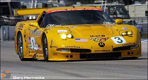 The ex-Ron Fellows/John O'Connell, ALMS GTS/GT1 Championship-winning,2001 Chevrolet Corvette C5-R ALMS Racing Sports Car  Chassis no. 005 Engine no. 1407