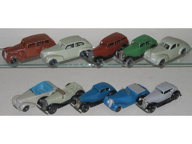Dinky 30, 36 ,38 and 39 series 10