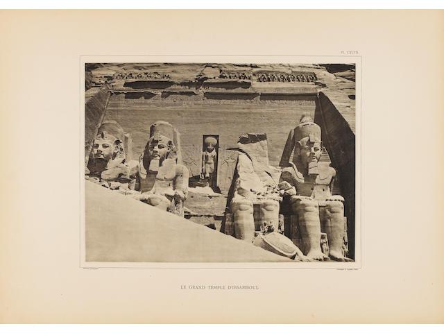 PALMIERI (M.A., editor) L'Egypte et la Nubie. Grand album monumental, historique, architectural