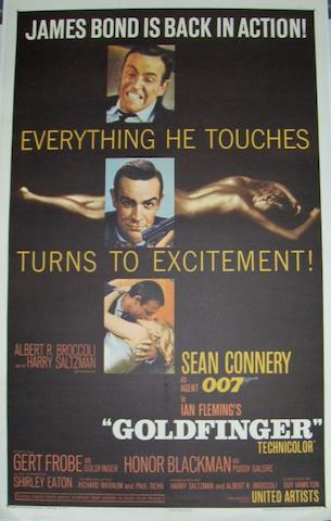 Goldfinger, United Artists, 1964,